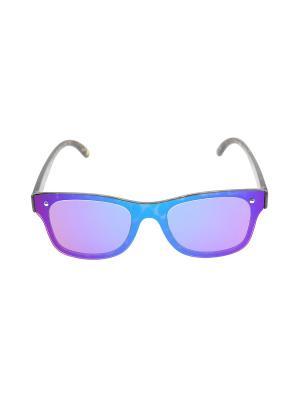Очки солнцезащитные Migura. Цвет: голубой, коричневый