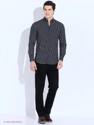 Рубашка Angelo Bonetti. Цвет: черный