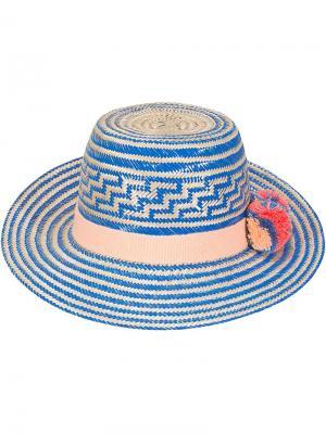 Шляпа Simea Yosuzi. Цвет: синий