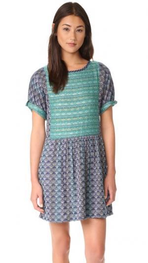Мини-платье Cora ace&jig. Цвет: carnaby