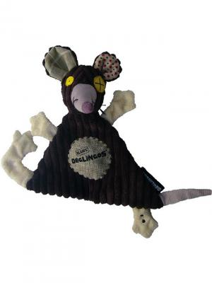 Игрушка Deglingos Крыска Ratos  - Baby. Цвет: коричневый