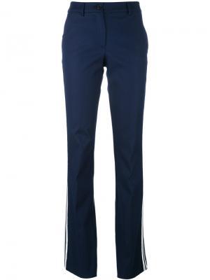 Расклешенные брюки Candela P.A.R.O.S.H.. Цвет: синий