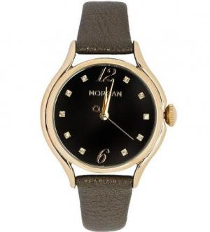 Часы с коричневым кожаным браслетом Morgan