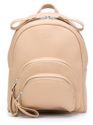 Micro Rockfeller backpack Valas. Цвет: телесный