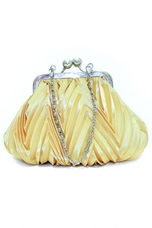 Сумка-клатч Fiorangelo. Цвет: желтый
