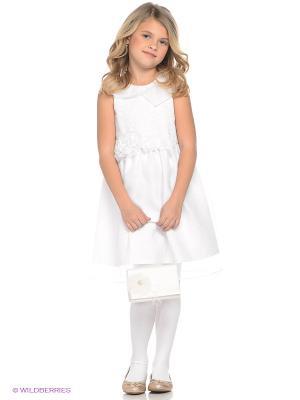 Платье LEMUR. Цвет: белый