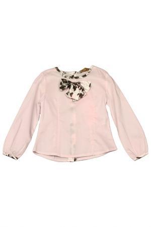 Блузка STEFANIA. Цвет: розовый