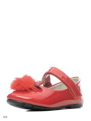 Туфли Vitacci. Цвет: красный