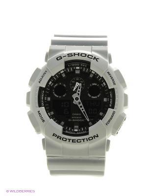 Часы G-Shock GA-100L-7A CASIO. Цвет: белый