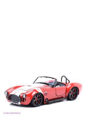 Модель автомобиля Shelby Cobra 1965 1:24 Jada. Цвет: красный