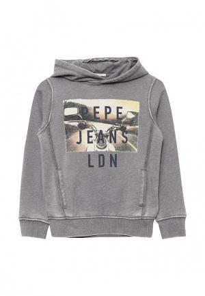 Худи Pepe Jeans. Цвет: серый