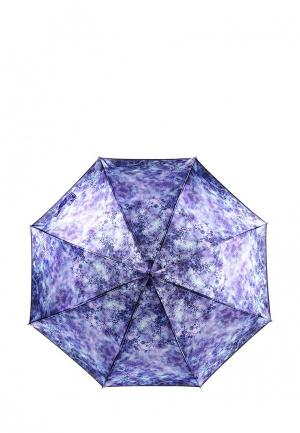 Зонт-трость Fabretti. Цвет: фиолетовый