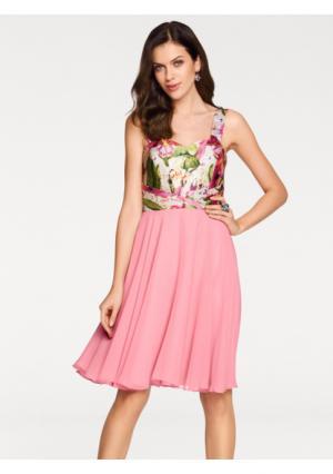 Коктейльное платье ASHLEY BROOKE by Heine. Цвет: розовый