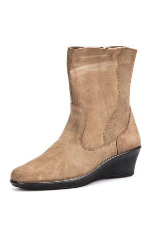 Low women boots CAMPORT. Цвет: taupe