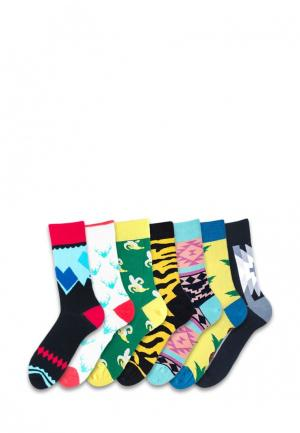 Комплект носков 7 пар Sammy Icon. Цвет: разноцветный