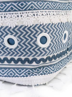 Тканая сумка Shaoul Dodo Bar Or. Цвет: белый