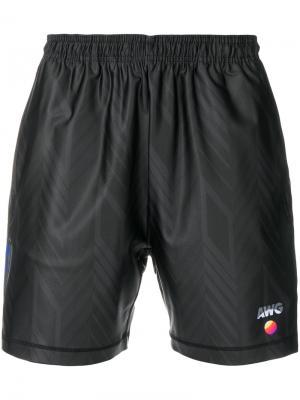 Спортивные шорты Alexander Wang. Цвет: чёрный