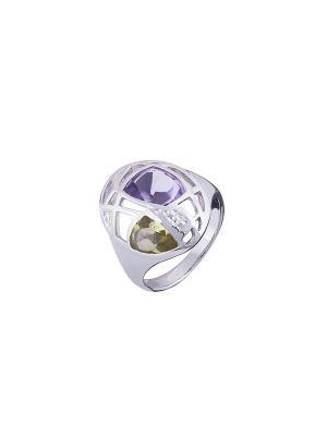 Кольцо Мастер Клио. Цвет: серебристый, фиолетовый, золотистый