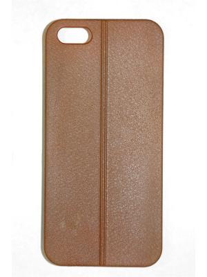 Чехол для Iphone 5/ 5S Punta. Цвет: коричневый