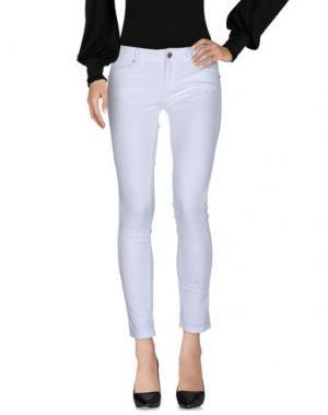 Повседневные брюки CUSTO GROWING. Цвет: белый