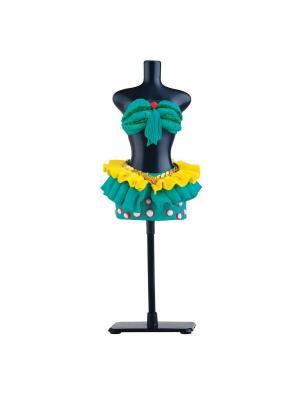 Набор для творчества с пластилином Fashion Dough и манекеном Зеленый Toy Target. Цвет: зеленый
