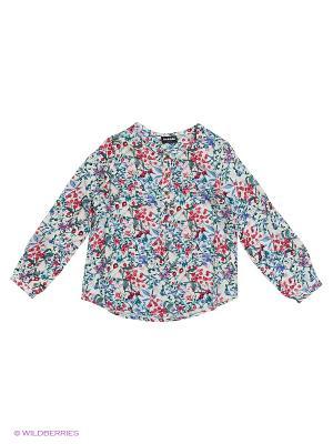Блузка ACOOLA. Цвет: голубой, розовый, белый
