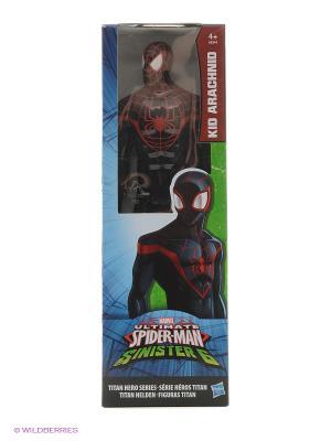 Титаны: Человек-Паук Паутинные Бойцы Hasbro. Цвет: черный, красный