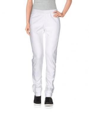 Повседневные брюки CALLENS. Цвет: белый