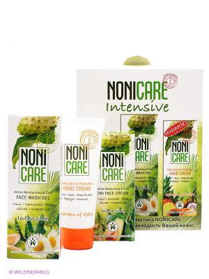 Подарочный набор Intensive 2+1 Nonicare. Цвет: белый, зеленый