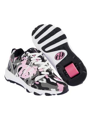 Роликовые кроссовки Hightail Heelys. Цвет: белый, черный, серый