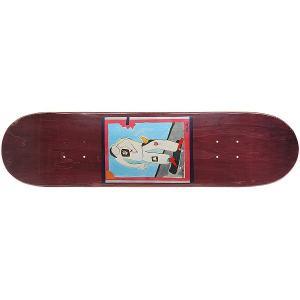Дека для скейтборда  SSS №1 Purple 32 x 8 (20.3 см) Absurd. Цвет: мультиколор,фиолетовый