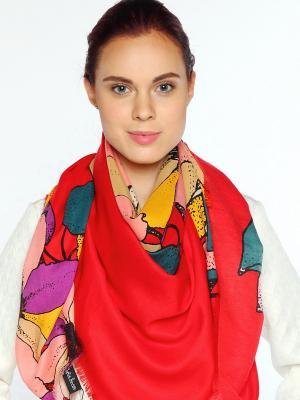 Платок Sophie Ramage. Цвет: красный