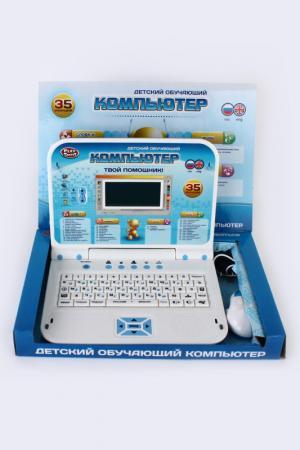 Компьютер эл., рус-англ., 35 ф Shantou Gepai. Цвет: голубой