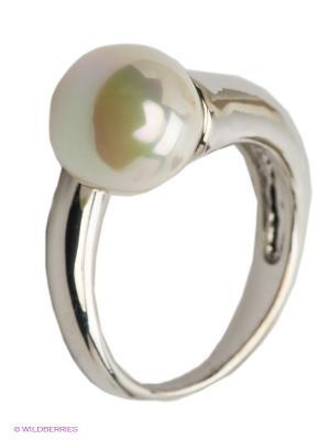 Кольцо Krikos. Цвет: белый, серебристый