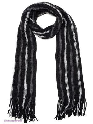 Шарф FOMAS. Цвет: черный, серый, белый