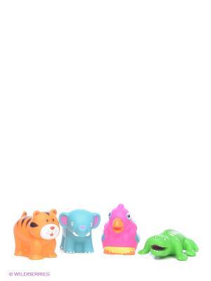 Игрушки для ванны Джунгли Alex. Цвет: оранжевый