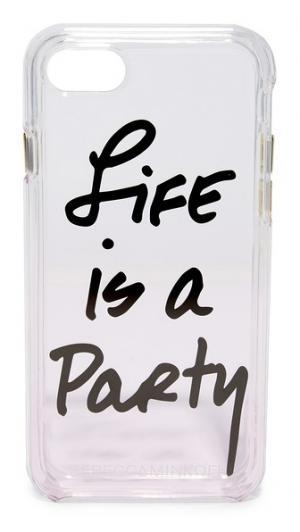 Чехол Life is a Party для iPhone 7 Rebecca Minkoff