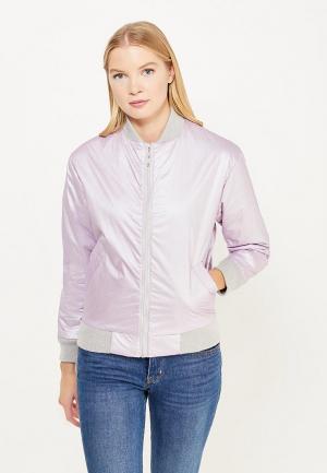 Куртка утепленная Soeasy. Цвет: фиолетовый