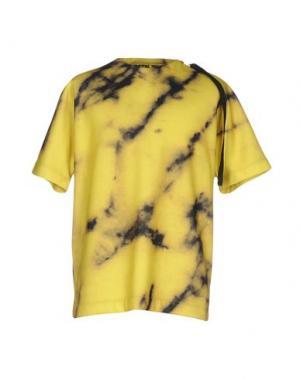 Толстовка #BEENTRILL#. Цвет: желтый