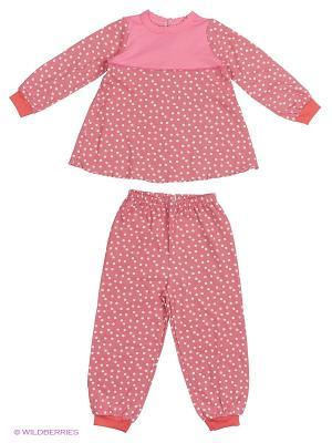 Пижама Babycollection. Цвет: коралловый