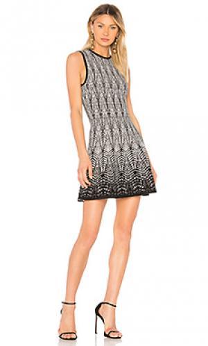 Платье briana Ronny Kobo. Цвет: черный