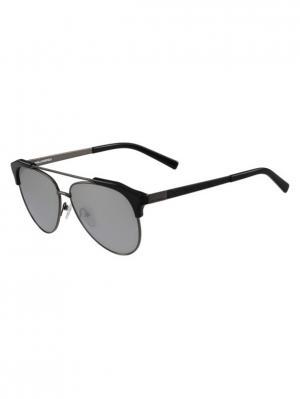 Очки солнцезащитные KL 246S 507 Karl Lagerfeld. Цвет: черный,серебристый