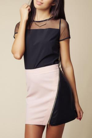 Юбка Ambigante. Цвет: pink and black
