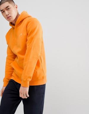 Stussy Худи с принтом логотипа на спине. Цвет: оранжевый