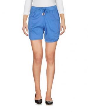 Повседневные шорты JIJIL. Цвет: синий