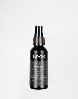 NYX Professional Makeup Спрей для фиксации макияжа Make-Up. Цвет: бесцветный