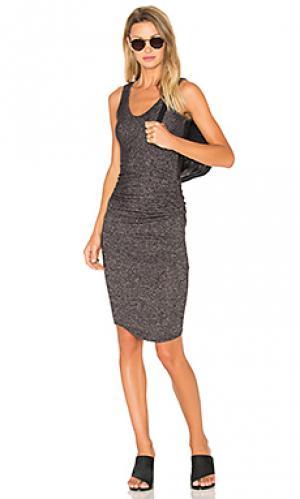 Платье gia Riller & Fount. Цвет: уголь