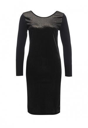 Платье Please. Цвет: черный