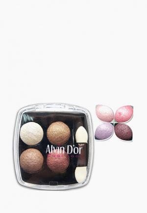 Тени для век Alvin Dor D'or. Цвет: розовый