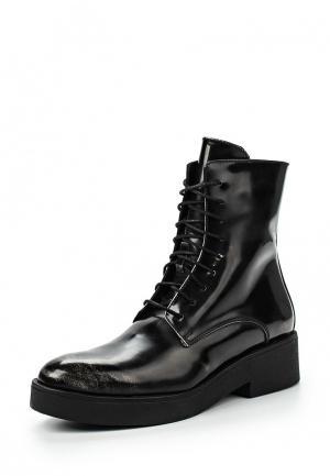 Ботинки K&B. Цвет: черный